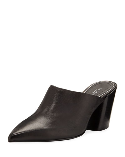 Beha Slide Leather Mules