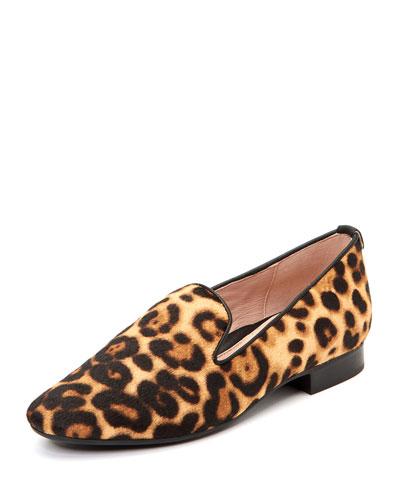 Bryanna Calf Hair Flat Loafers