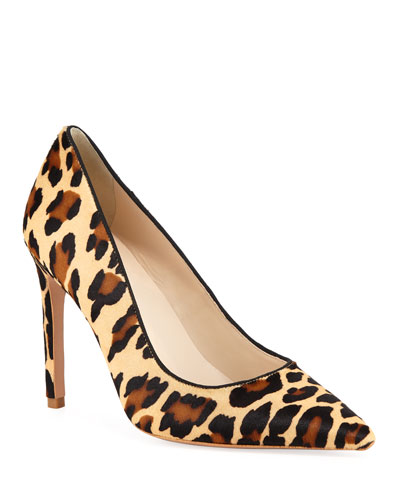 Rio Leopard Animal-Print High-Heel Pumps