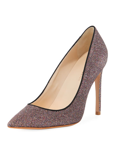 Rio Fine Glitter High-Heel Pumps