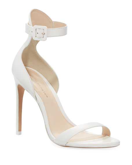 Sophia Webster Nicole Calf Ankle-Wrap Sandal