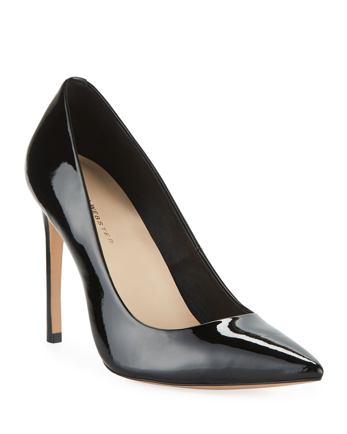 Rio High-Heel Patent Leather Pumps