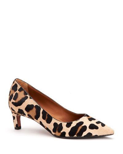Marianna Pointed Fur Pumps