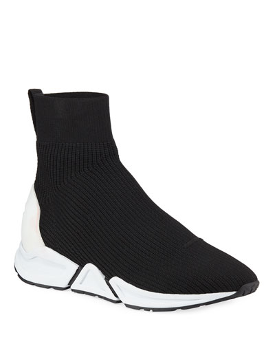 Thonder Stretch-Knit Bootie Sneakers