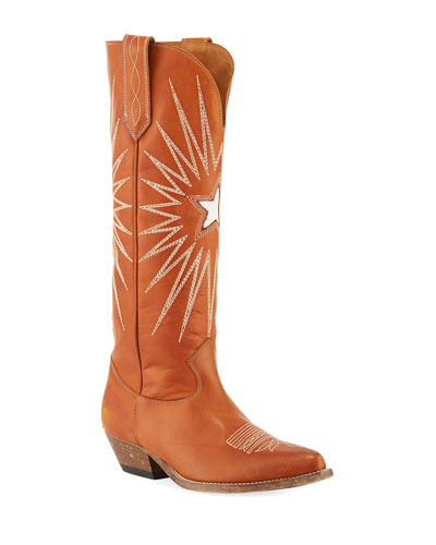 0d488b40493 Quick Look. Golden Goose · Wish Star Knee-High Cowboy Boot