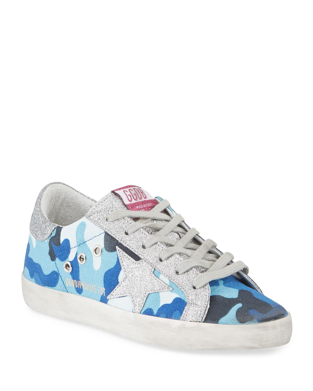 Superstar Glitter Camo Sneakers