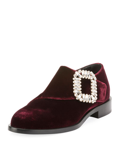 Monk Strass Buckle Loafer