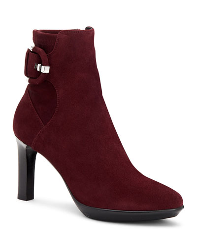 Rachele High-Heel Suede Booties