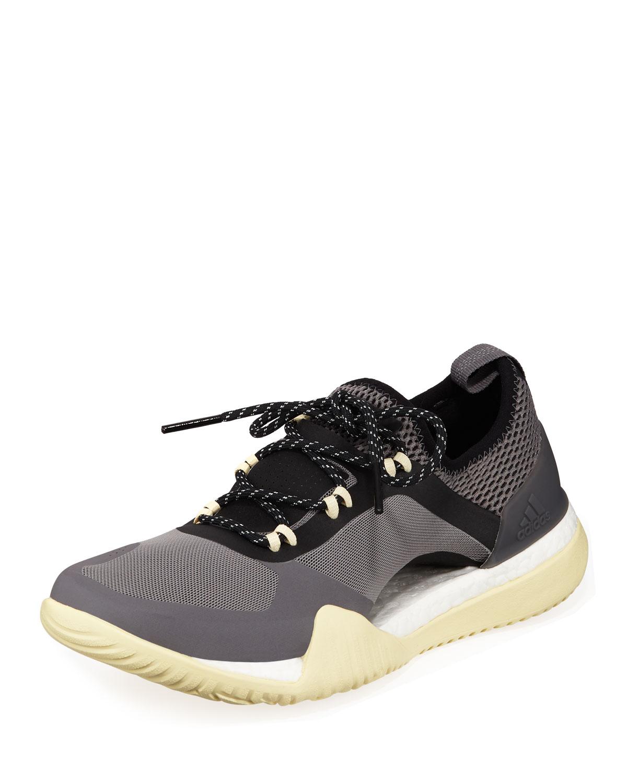Pureboost X Tr 3.0 Engineered Mesh Sneakers in Stone/Granite/Mst