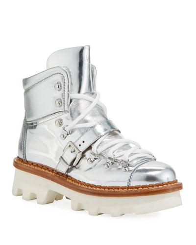 Amboise Scarpa Metallic Boots