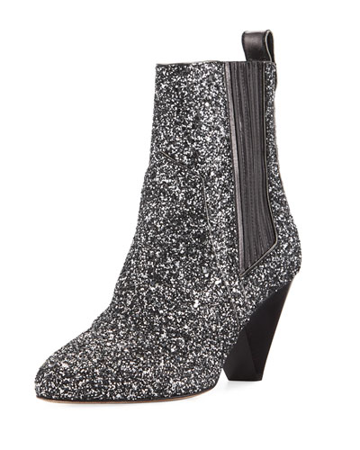 Bennett Crushed Glitter Booties