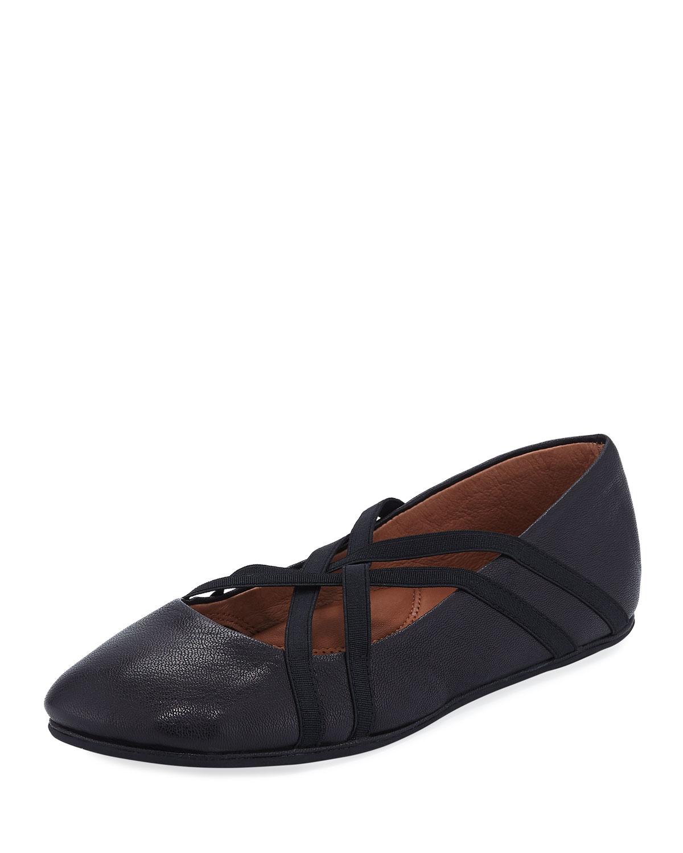 Bray Braid-Strap Ballet Flats