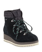 UGG Birch Lace-Up Wedge Hiker Booties