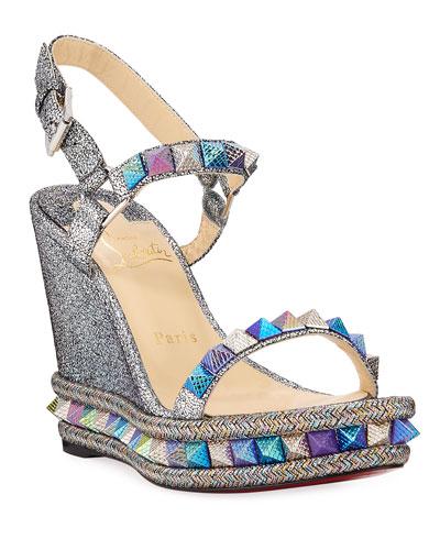 320239e9fdb Braided Metallic Shoes