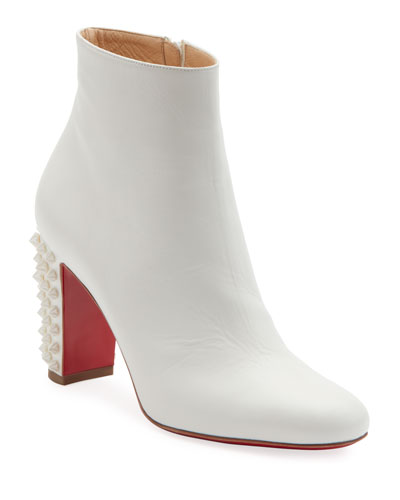 Suzi Folk Red Sole Booties