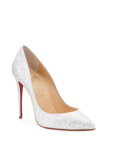 0df02abf882c Quick Look. Christian Louboutin · Pigalle Follies 100mm Glitter Red Sole  Pumps