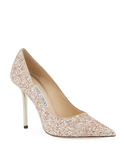 Love Glitter 100mm Pumps