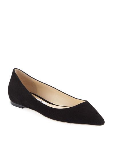 6544611dc22d Pointed Toe Ballerina Flat | Neiman Marcus
