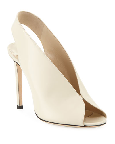 0cc8442228de Quick Look. Jimmy Choo · Shar Leather Slingback Sandals