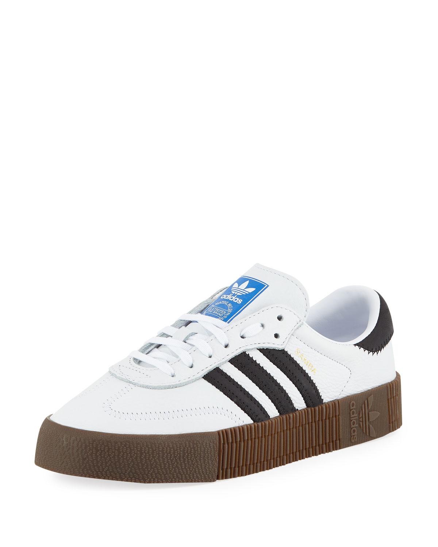 Samba Rose Platform Sneakers