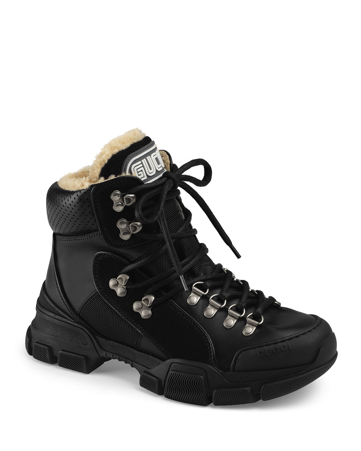 Flashtrek Shearling-Lined Hiker Boots