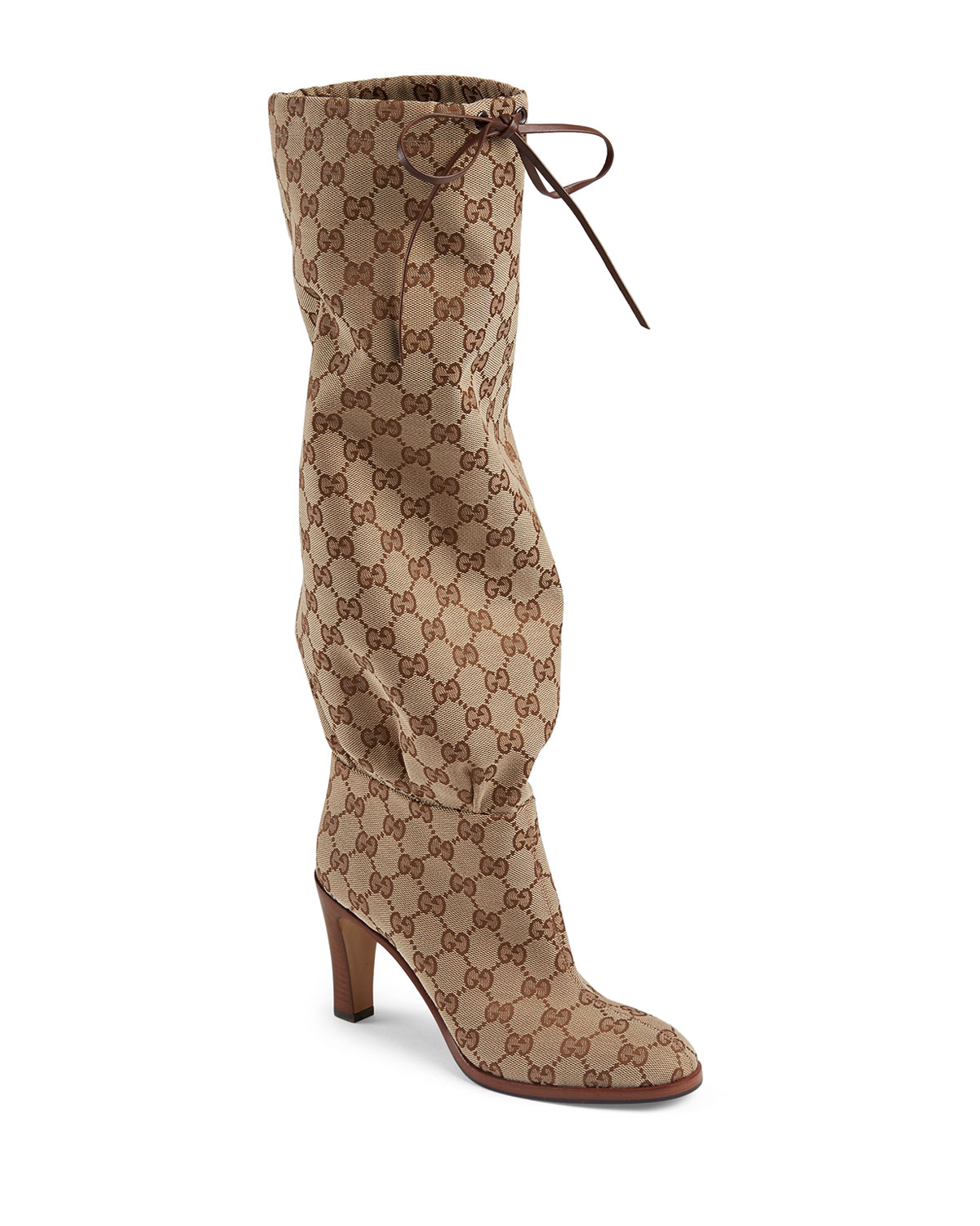 Lisa GG Canvas Knee Boots
