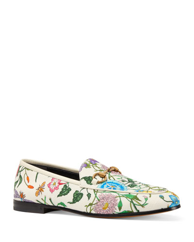 9e9f53e7c Quick Look. Gucci · Floral Canvas Flat Loafers