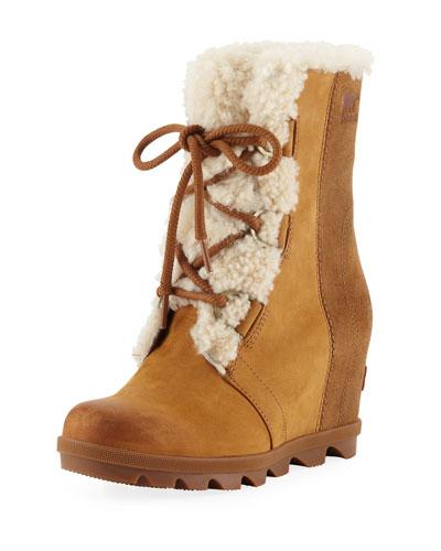 Joan of Arctic Waterproof Wedge Boots