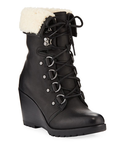 After Hours Lace-Up Waterproof Boots