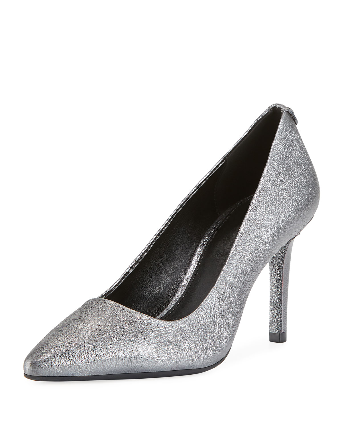 MICHAEL MICHAEL KORS DOROTHY FLEX METALLIC LEATHER PUMPS