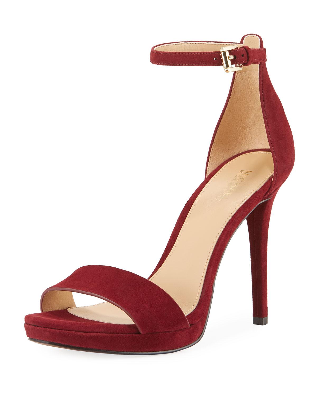 Hutton Suede Platform Sandals