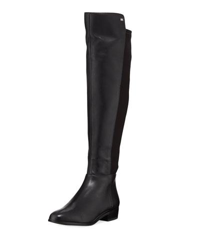 Bromley Sensitive Stretch Napa Flat Riding Boots