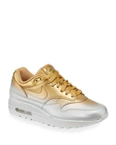 117c2c94ffb Metallic Lace Up Sneakers