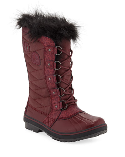 Tofino II Quilted Knee Boots