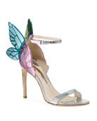 Sophia Webster Chiara Butterfly Wing Multi Metallic Leather
