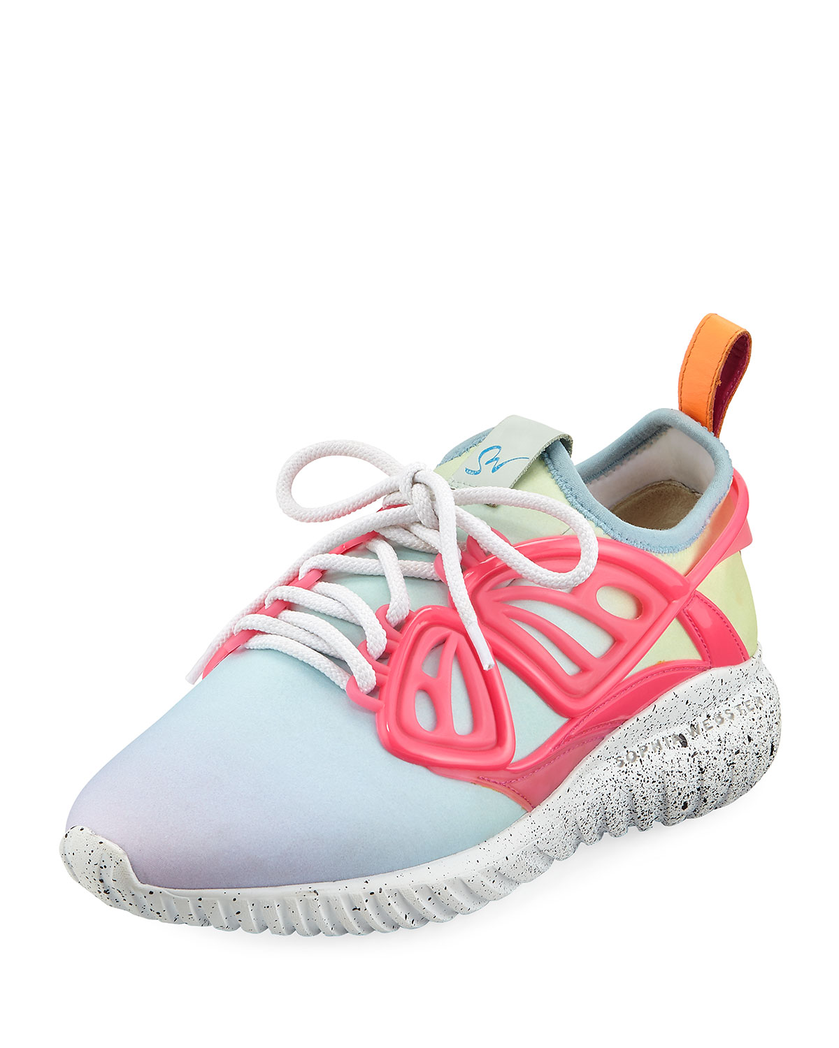 Fly By Ombre Scuba Chunky Sneakers