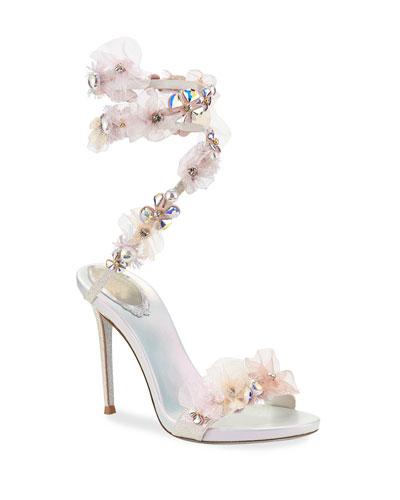 4d5fb3c3c74b7 Rene Caovilla Glittered Shoes
