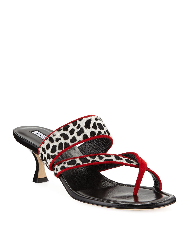 Susa Fur Slide Sandals