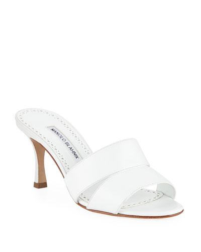 Iacopo Calf Leather Slide Sandals