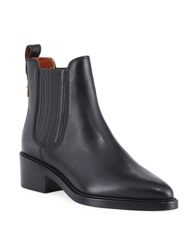 Bowery Calf Chelsea Boots