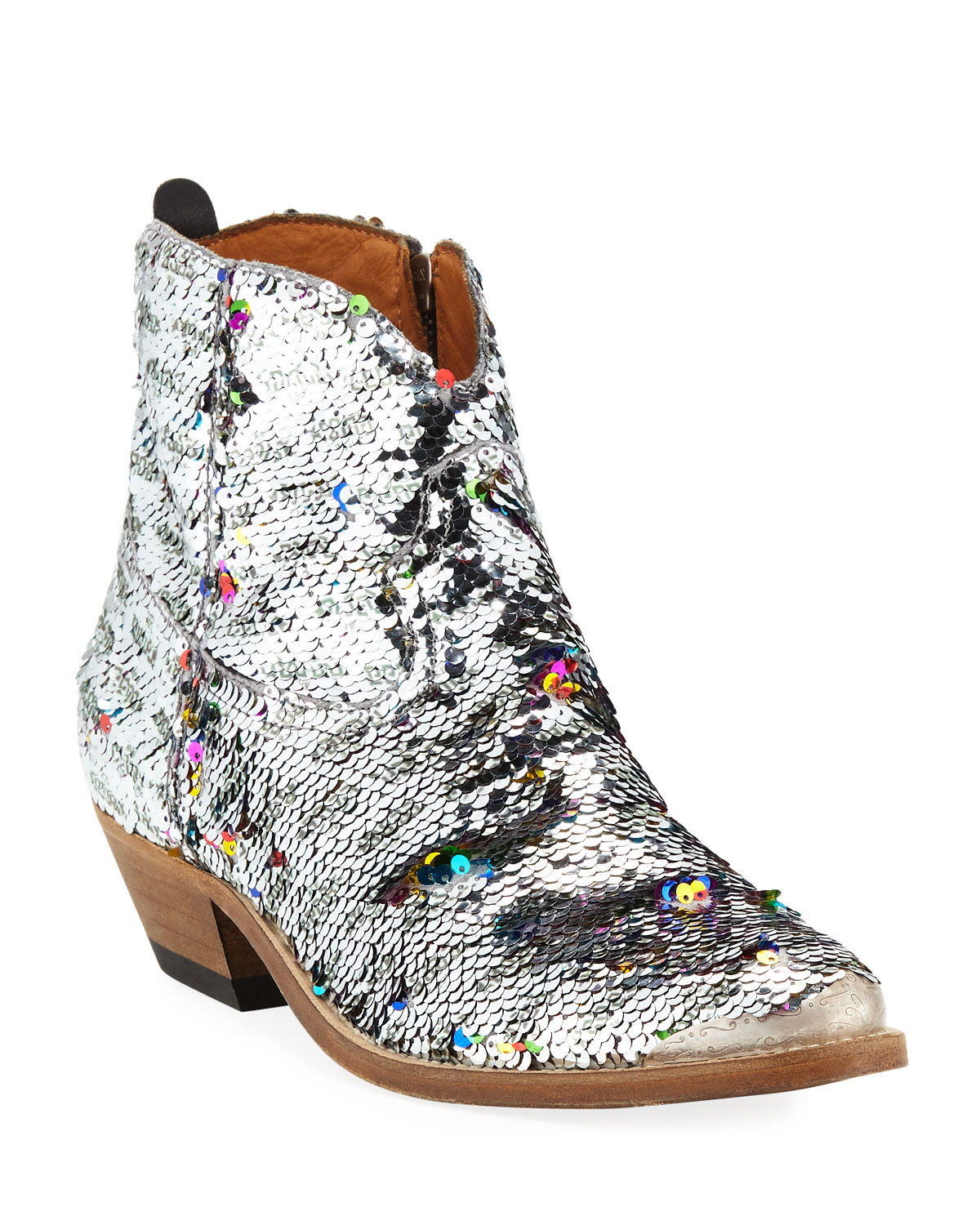 Young Sequin Western Boots