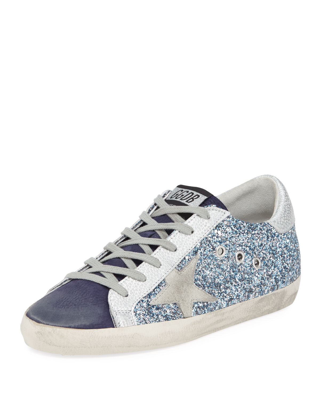 Superstar Glitter Platform Sneakers