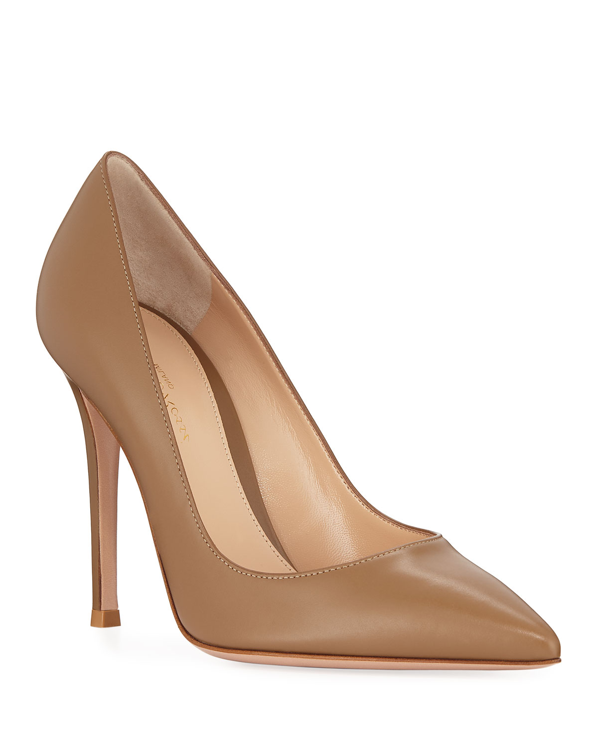 Gianvito 105mm Leather Point-Toe Pumps