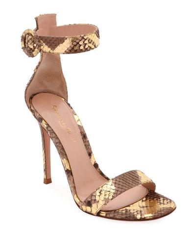 Portofino Python 105mm Sandals