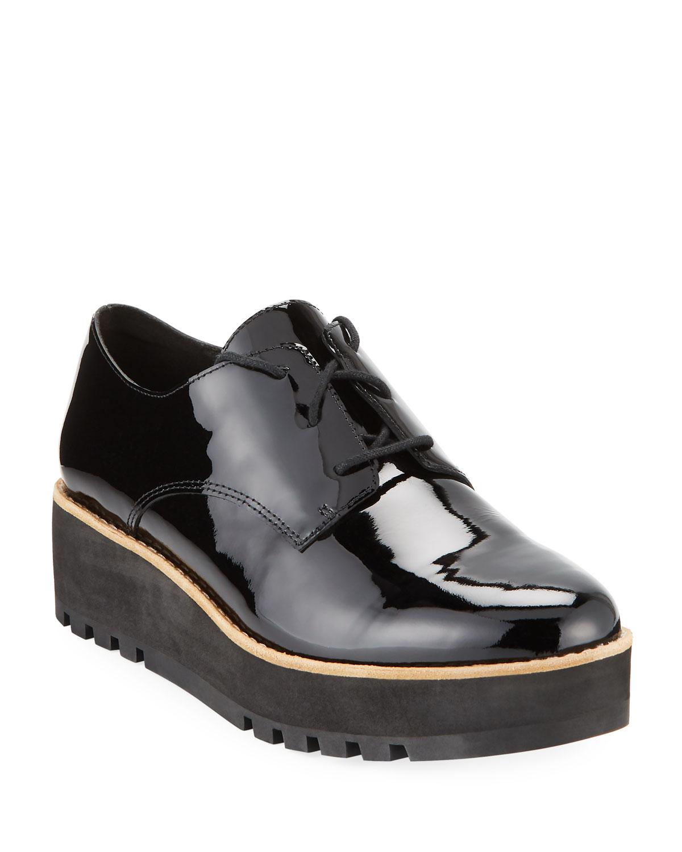 Eddy Patent Platform Dress Shoes