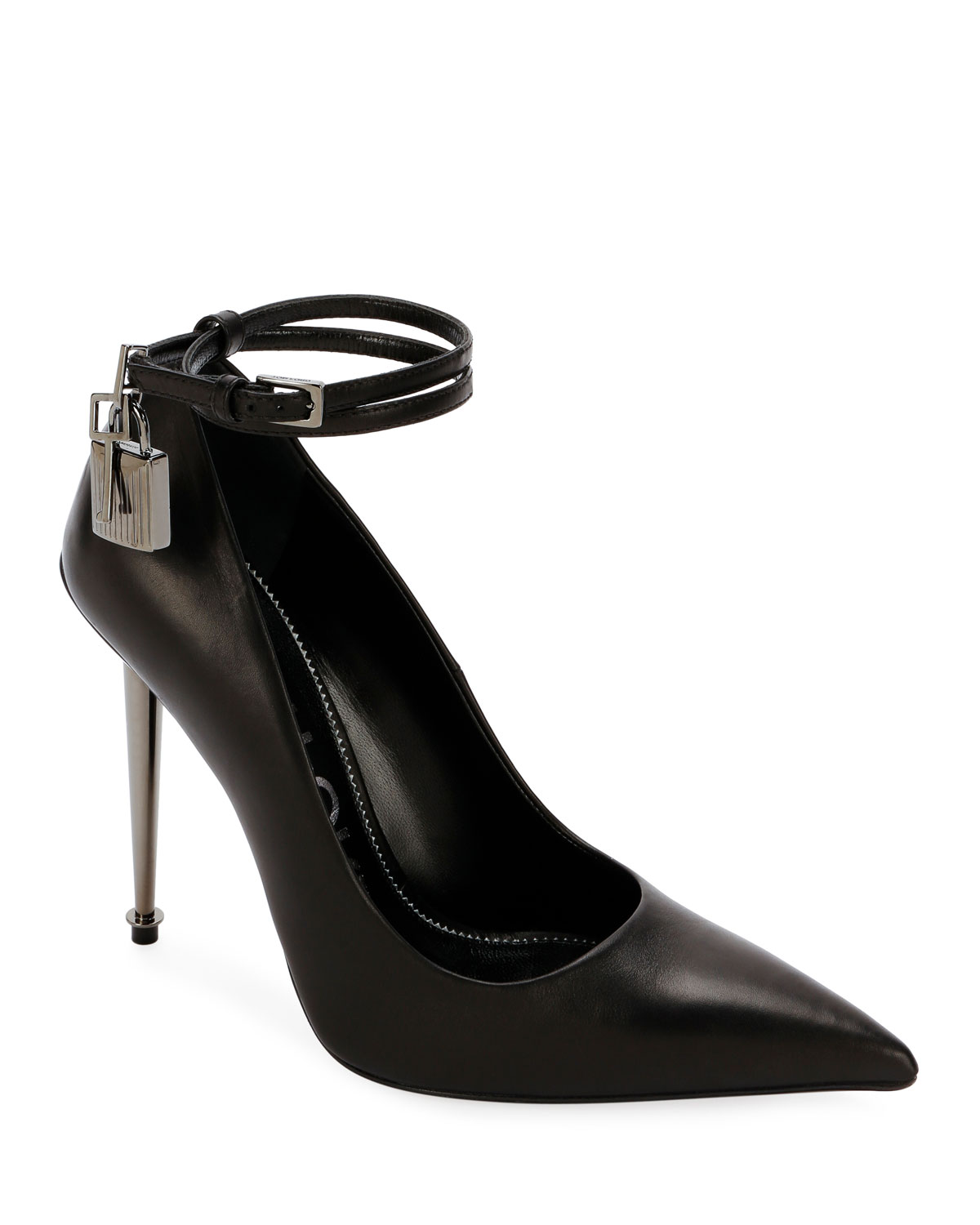 Leather Lock 105mm Pumps