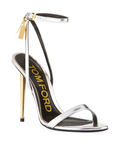 82e14e98269a Quick Look. TOM FORD · Mixed Metallic Lock Sandals