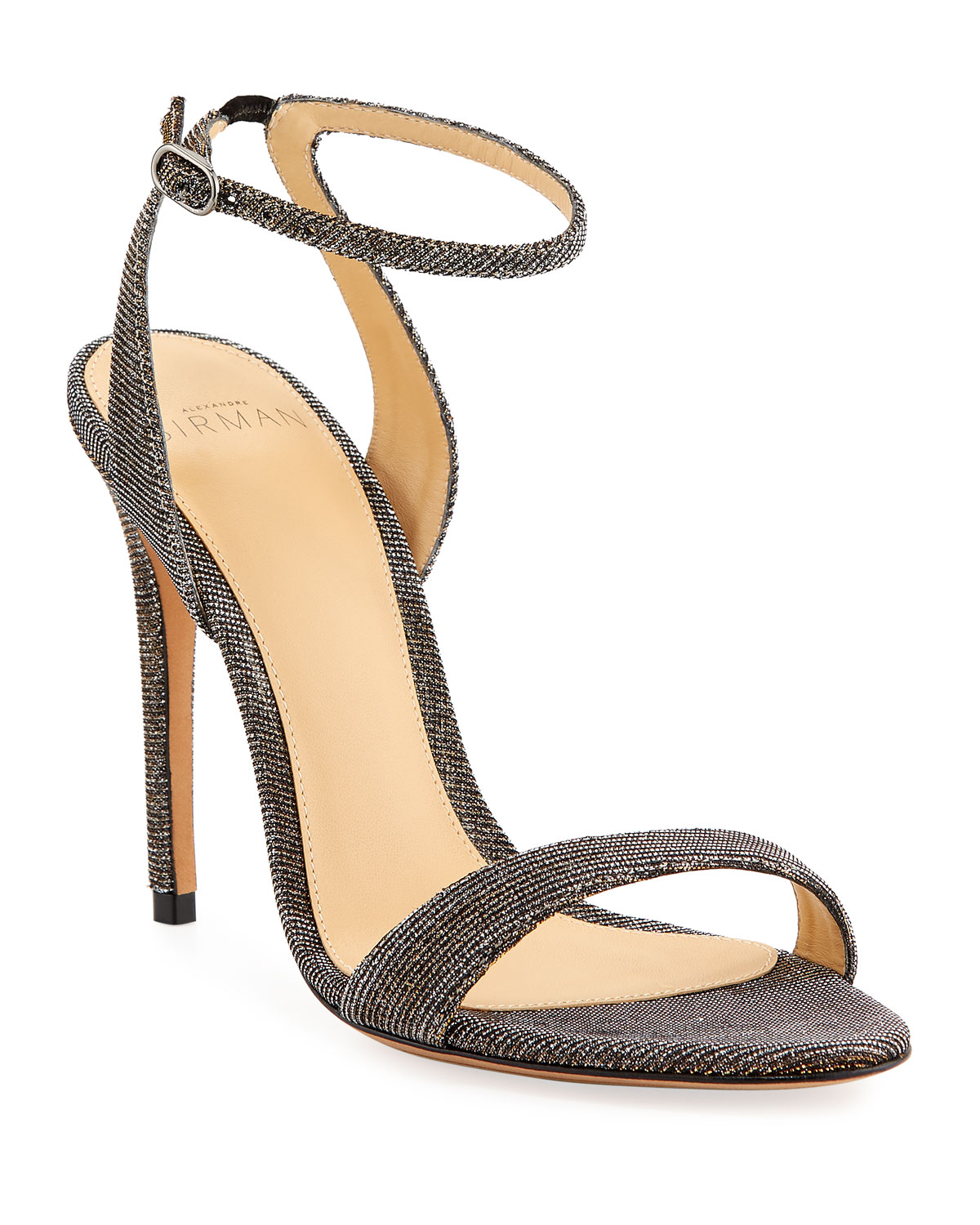Willow Metallic Stretch Sandals