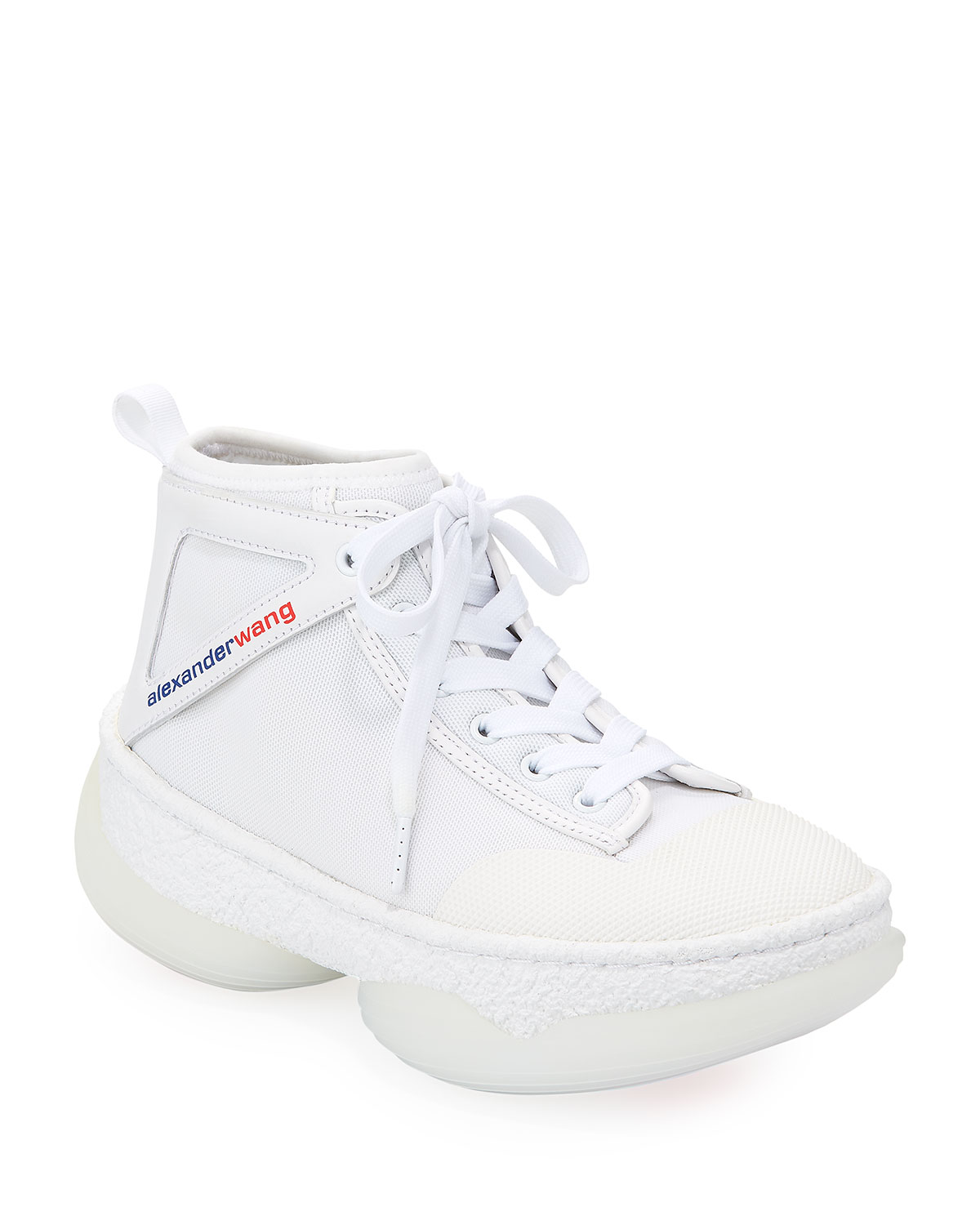 A1 Lace-Up High-Top Sneakers