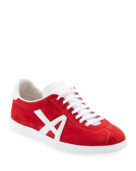 Aquazzura The A Suede Sneakers
